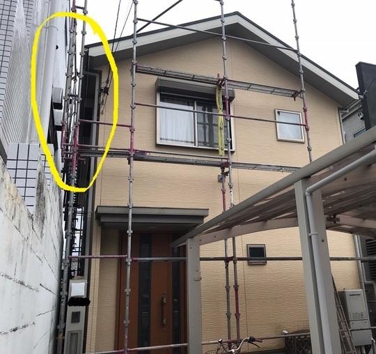 外壁 塗装 なし 足場